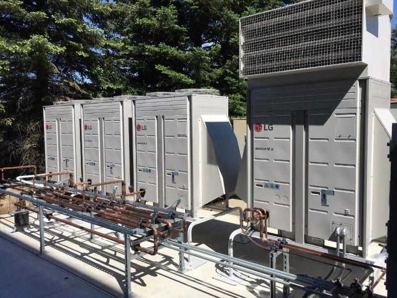 sistema de ar condicionado vrf